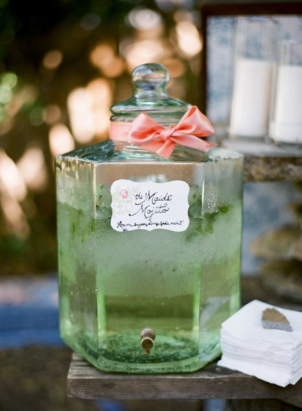 I would love a beautiful container of mojito in my refrigerator at all times, please.