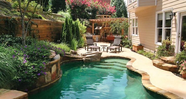 227 Best Images About For The Home Swimming Pools On Pinterest Pool Houses Swimming Pool