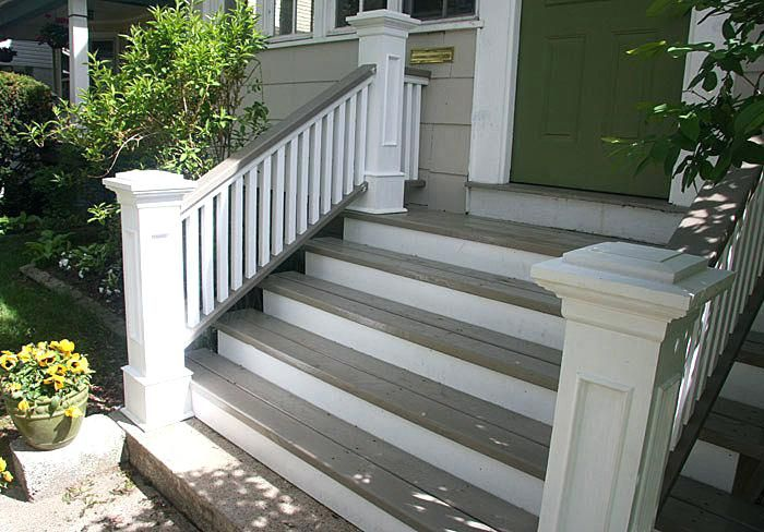 Best Exterior Newel Post Front Steps Railings And Newel Posts 640 x 480