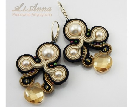 336 sutasz (soutache) - Pracownia artystyczna Lianna | Anna Lipowska LiAnna Biżuteria sutasz