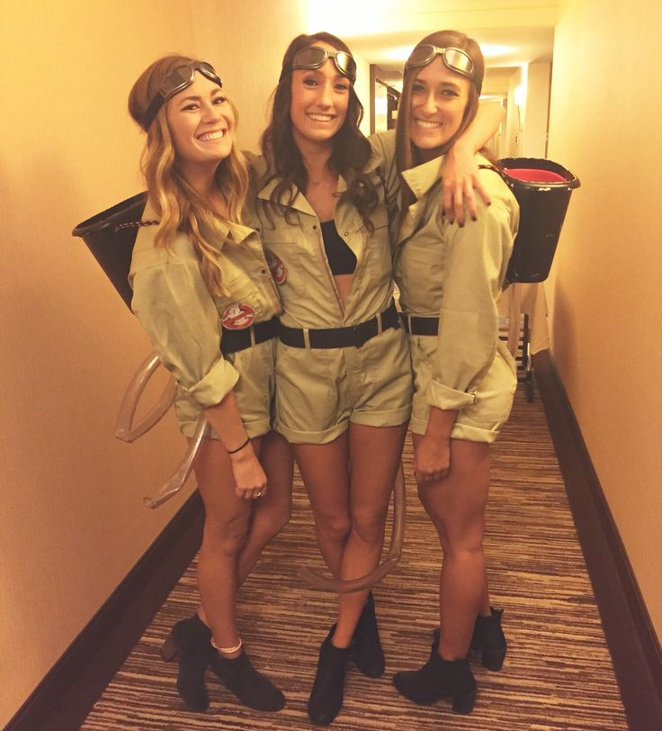 Women's DIY Ghost busters Halloween Costume – Group Costume Ideas & Inspiratio…
