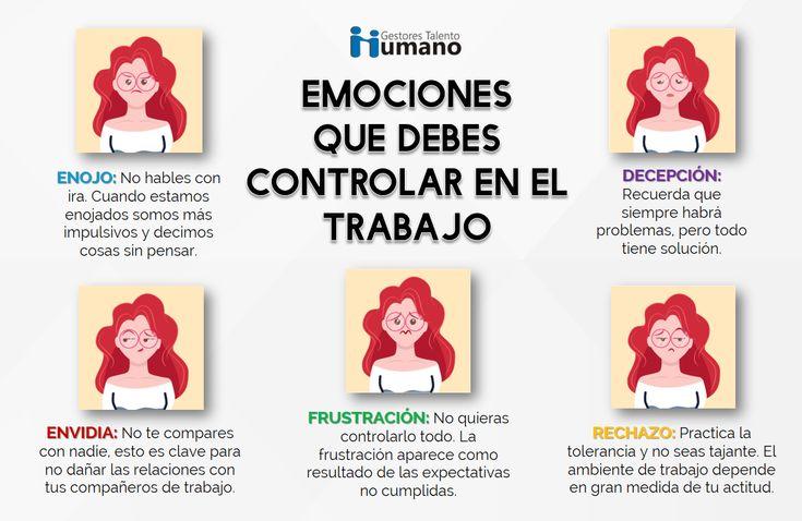 emociones a controlar en el trabajo