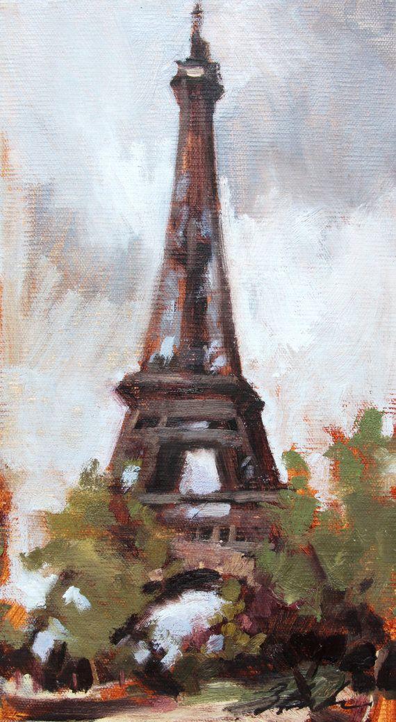 17 Best images about Artist Suzie Baker on Pinterest | 16 ... Eiffel Tower Painting Landscape