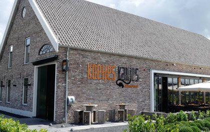 Gezellig buitenterras van Koetjes en Kalfjes Zoetermeer.