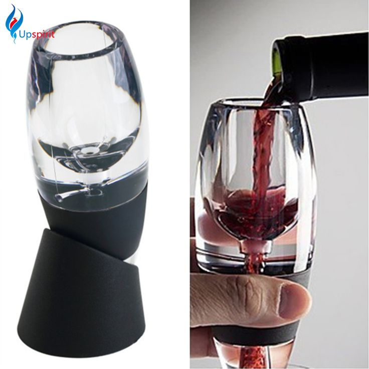 1Set Essential Plastic Wine Aerator Decanter Quick Aerating Pourer Wine Hopper Filter For Kitchen Bar Wine Accessories Gift