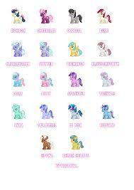 liro pony con sus nombres - Buscar con Google