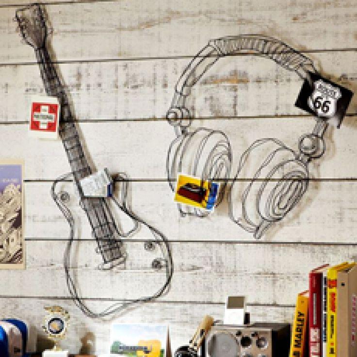Wire Music Decor