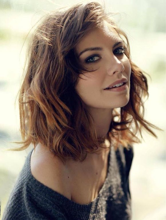 Lauren Cohan. Amazing woman. <3