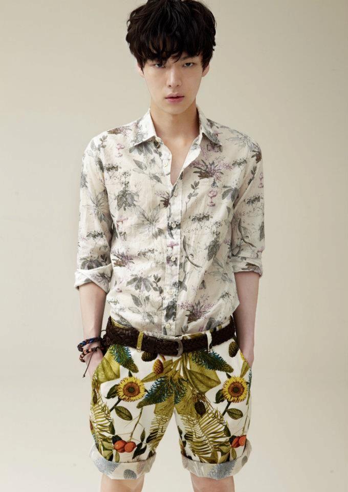 koreanmodel:  Ahn Jae Hyeon by Kim Jung Ho for Allure Korea