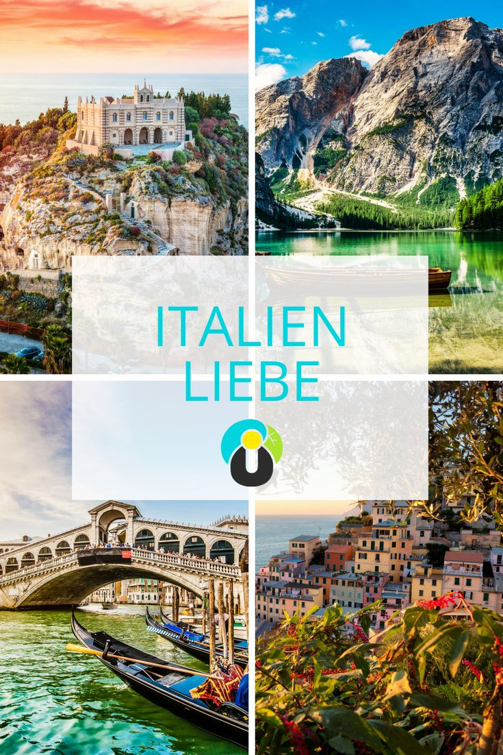 Rom, Venedig, die Amalfiküste oder doch Sardinien? Ein Urlaub in Italien ist angesagt wie nie und bietet euch viele Möglichkeiten. Auf dieser Pinnwand erfahrt ihr mehr über die schönsten Ziele in Italien. Lasst euch inspirieren und verbringt mit meinen Italien Tipps einen perfekten Urlaub.