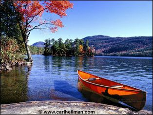 Peaceful Lake George, Adirondack Mtns, New York