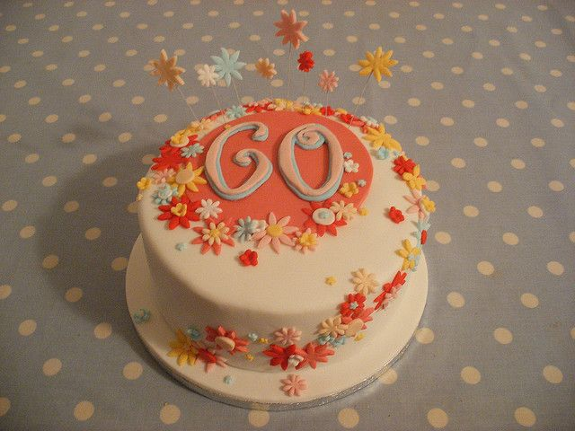 1000 images about cake ideas 60 on pinterest flower for 60th birthday cake decoration
