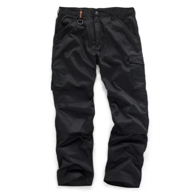 Scruffs Worker Trousers With Knee Pad Insert Pockets
