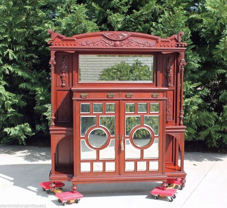 Foyer Display Cabinet : Best images about grand victorian furniture on