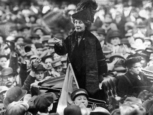 Emmaline Pankhurst and the British suffragettes. They were tortured in jail, just because they wanted to vote. Great heroines all.