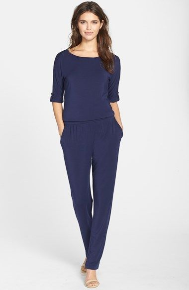 Tart 'Jacklin' Jersey Jumpsuit available at #Nordstrom