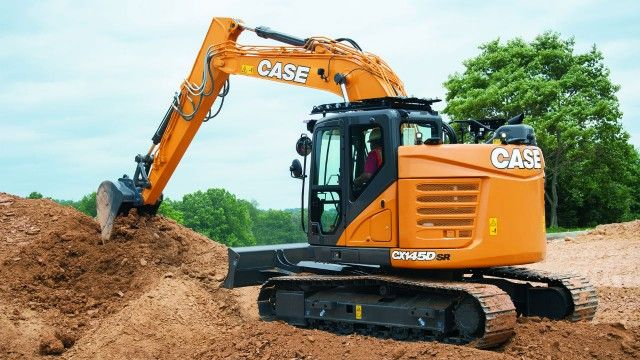 Case excavator offers big power in a small footprint #construction #canada