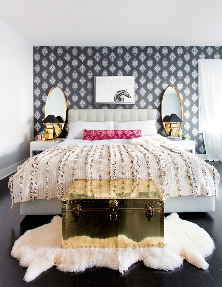 A Bohemian Bedroom by Centered by Design