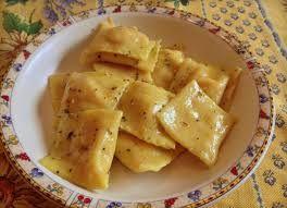 ravioli zucca e tofu