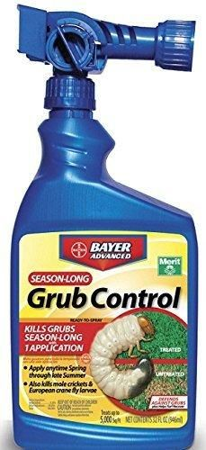Bayer Advanced 700840 Season Long Grub Control Ready-To-Spray 32-Ounce