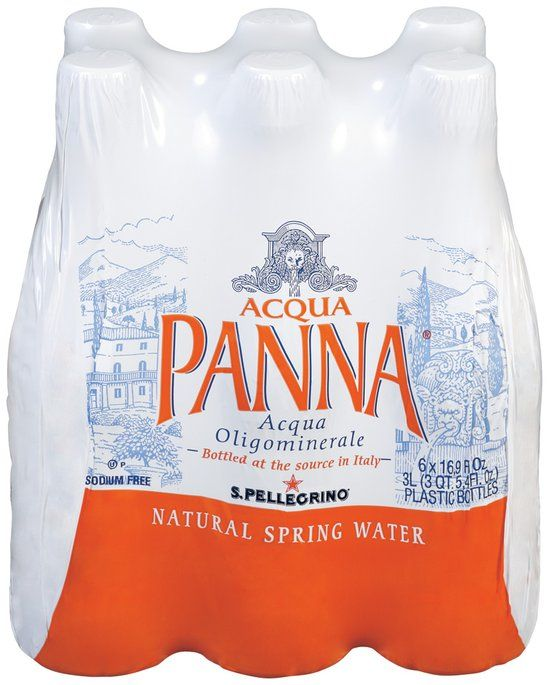 I'm learning all about Acqua Panna Natural Spring Water, 16.9-ounce plastic bottles (Pack of 6) at @Influenster!