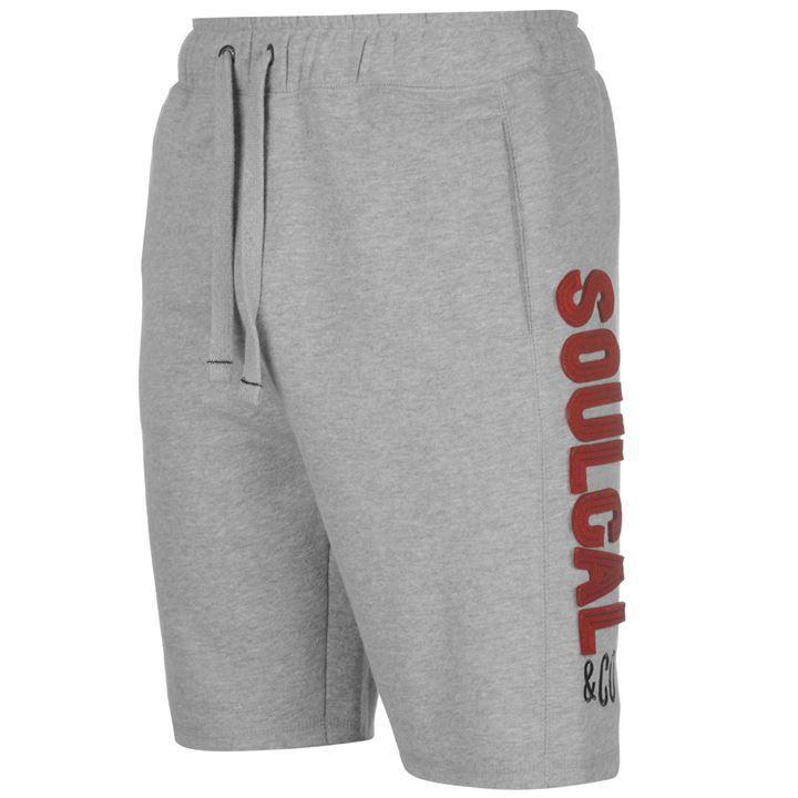 Soulcal | Soulcal Fleece Shorts Mens | Fleece Shorts