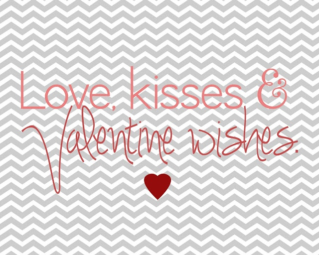 Valentines Printable. from Lovely Little Snippets