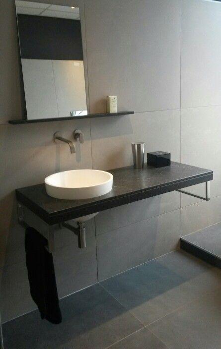 Badkamer Ideeen Zwart Wit ~   RVS inbouw kranen Friendo van Hotbath Meer te vinden op www welbie nl