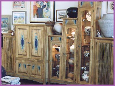 Custom Southwestern Furniture Contempoary Southwest By Grazier Handmade Santa Fe Style