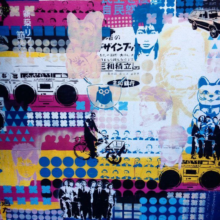 Graffiti tour in Buenos Aires, Argentina  Artist: Cabaio