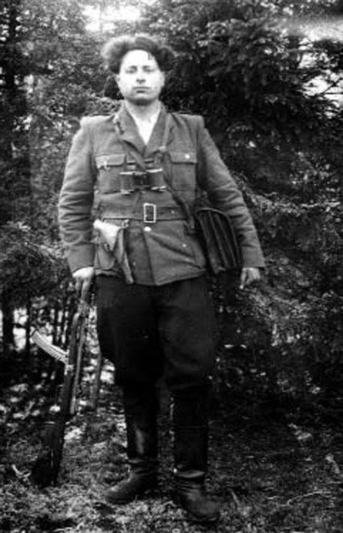 """Rok 1950. Stanisław Grajek """"Mazur"""", żołnierz patrolu PAS NZW. Zginął 11 listopada 1953."""