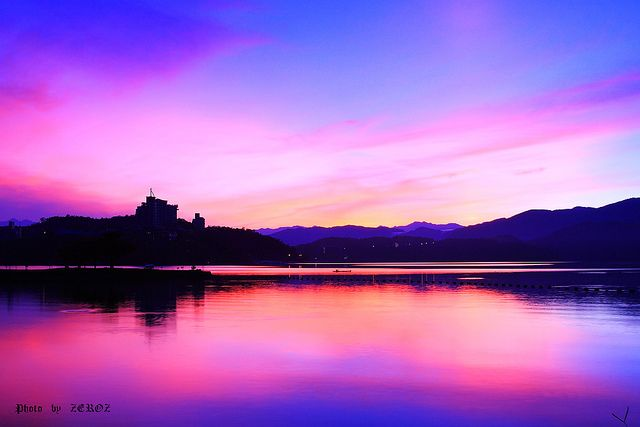 世界遺産 日月潭 台湾の絶景写真画像  台湾