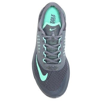 Nike FS Lite Run 2 Running Shoe Grey/Green/Anthro