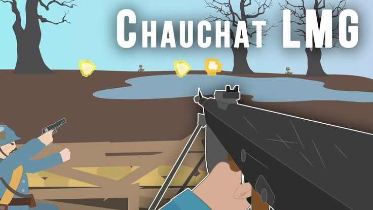 Support our sponsors and learn at the same time! Chauchat Light Machine Gun - Worst machine gun ever?