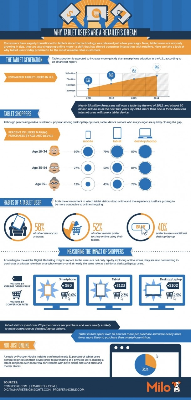 USA Online Shopping Infographic