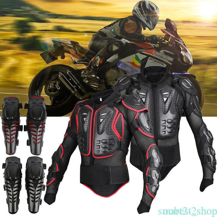 Motorcycle Full Body Armor Jacket Motocross Racing Spine Chest Protecto Gear CP  | eBay