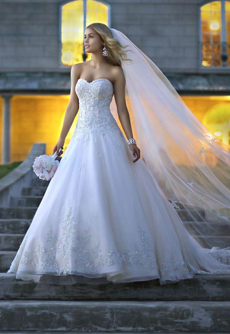 Stella York 5833 Size 10 $799 - Debra\'s Bridal Shop at The Avenues ...
