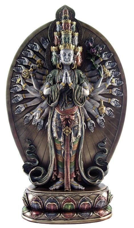 Thousand Armed Avalokitesvara Buddha Bronze Statue | eBay