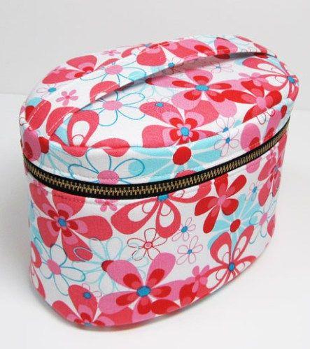 Oval Zippered Vanity Bag - Sewing ePattern