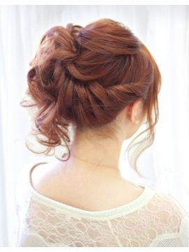 ヘアセットマーカス(hair set Mircus)華やか大人のサイドアップ☆神戸三宮 ヘアセット着付け☆