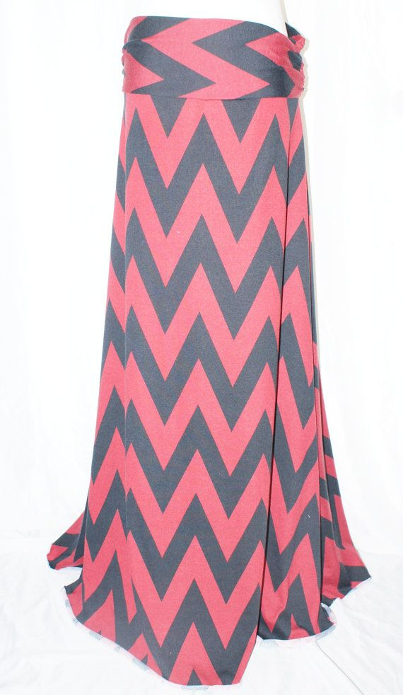 Hey, I found this really awesome Etsy listing at https://www.etsy.com/listing/171907525/womens-red-and-black-big-chevron-zig-zag