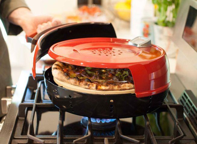 'Pizzaria portátil' faz seu fogão à gás virar um incrível forno de pizza em minutos   Virgula