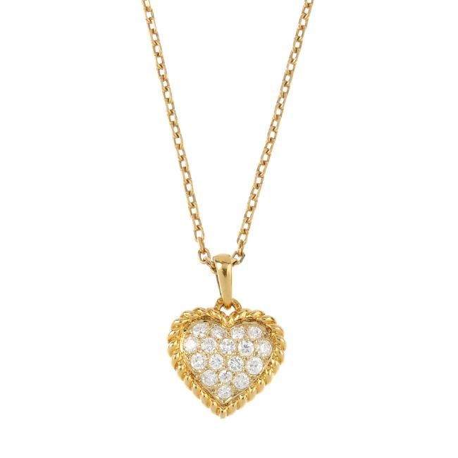 www.liveauctioneers.com item 52002855_van-cleef-and-arpels-a-diamond-heart-pendant-the?classic=true