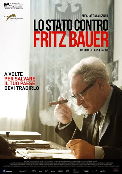 Lo Stato contro Fritz Bauer  Un film di Lars Kraume. Con Burghart Klaußner, Ronald Zehrfeld, Sebastian Blomberg, Jörg Schüttauf, Lilith Stangenberg