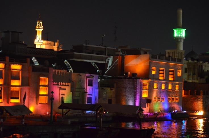 Creek Dubai Night