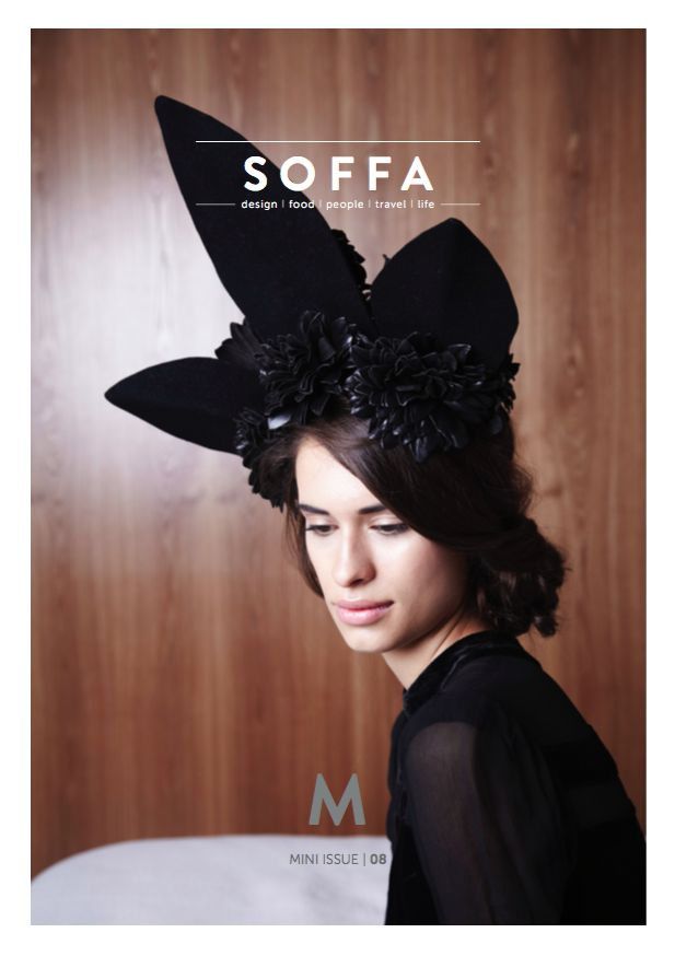 SOFFA mag mini issue 08 I www.soffamag.com I #SoffaMag #cover #magazine #fashion #vintage #model