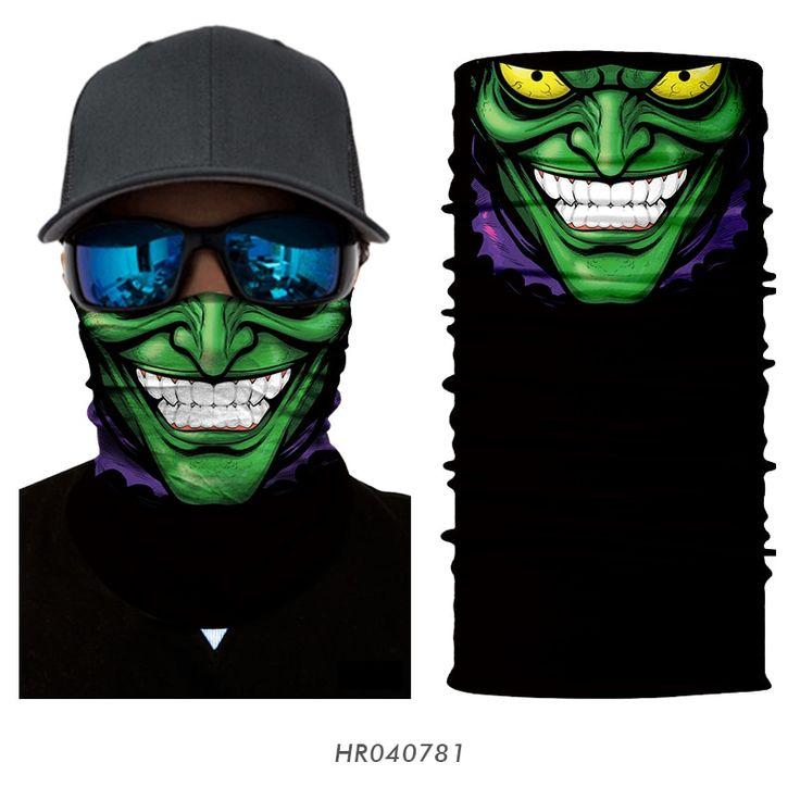 3D Cartoon Motorcycle Face Mask Bandana MotoFlavour.com