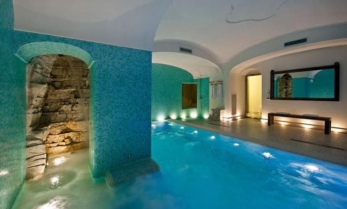 Piece of an ideal home?  Underground pool cavern.