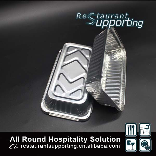 Custom Food Grade Restaurant Hot Food Aluminum Foil Container