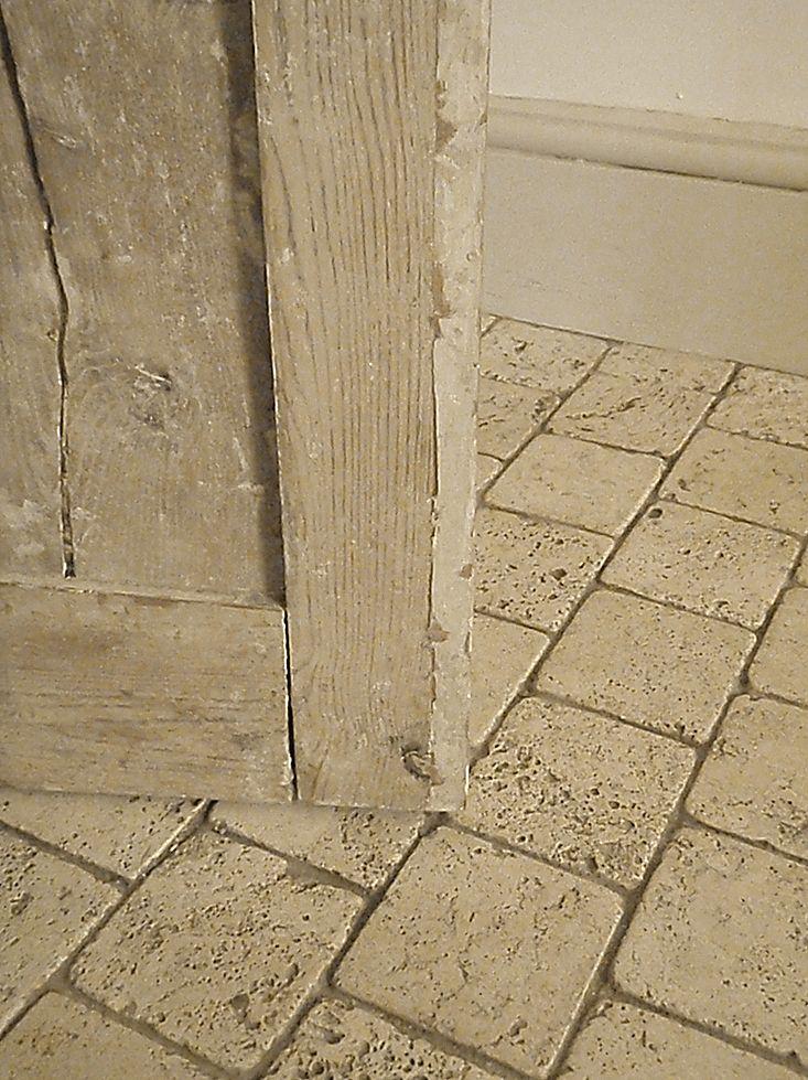 53 best images about tile on pinterest shower tiles for Best grout color for travertine tile